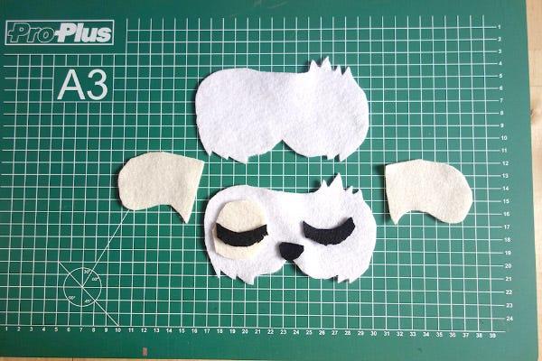 DIY Sleeping Mask