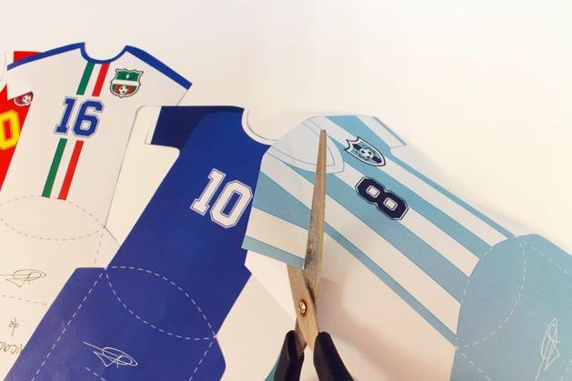 DIY Football Birthday Invitations