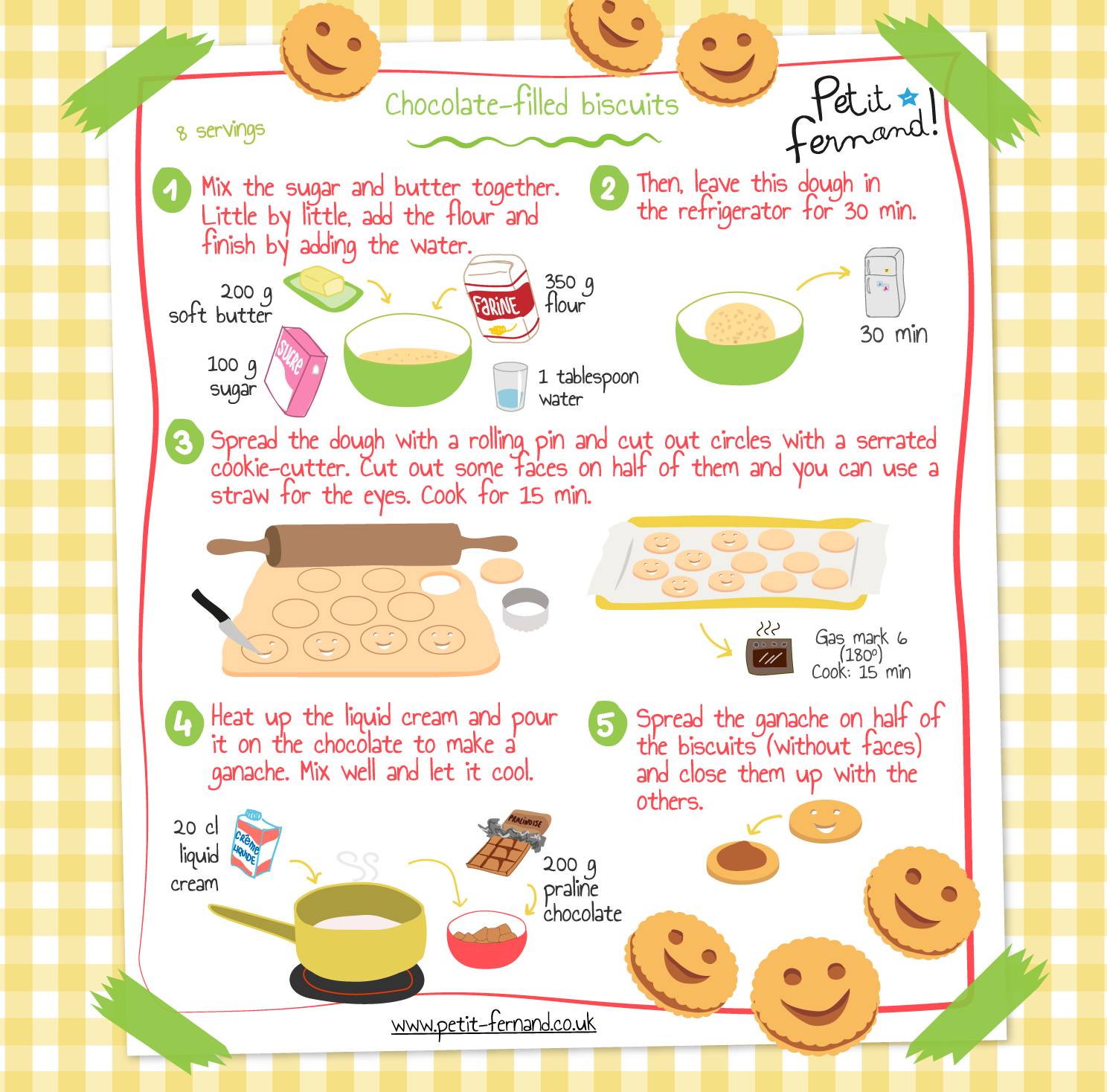 Kids' biscuit recipe
