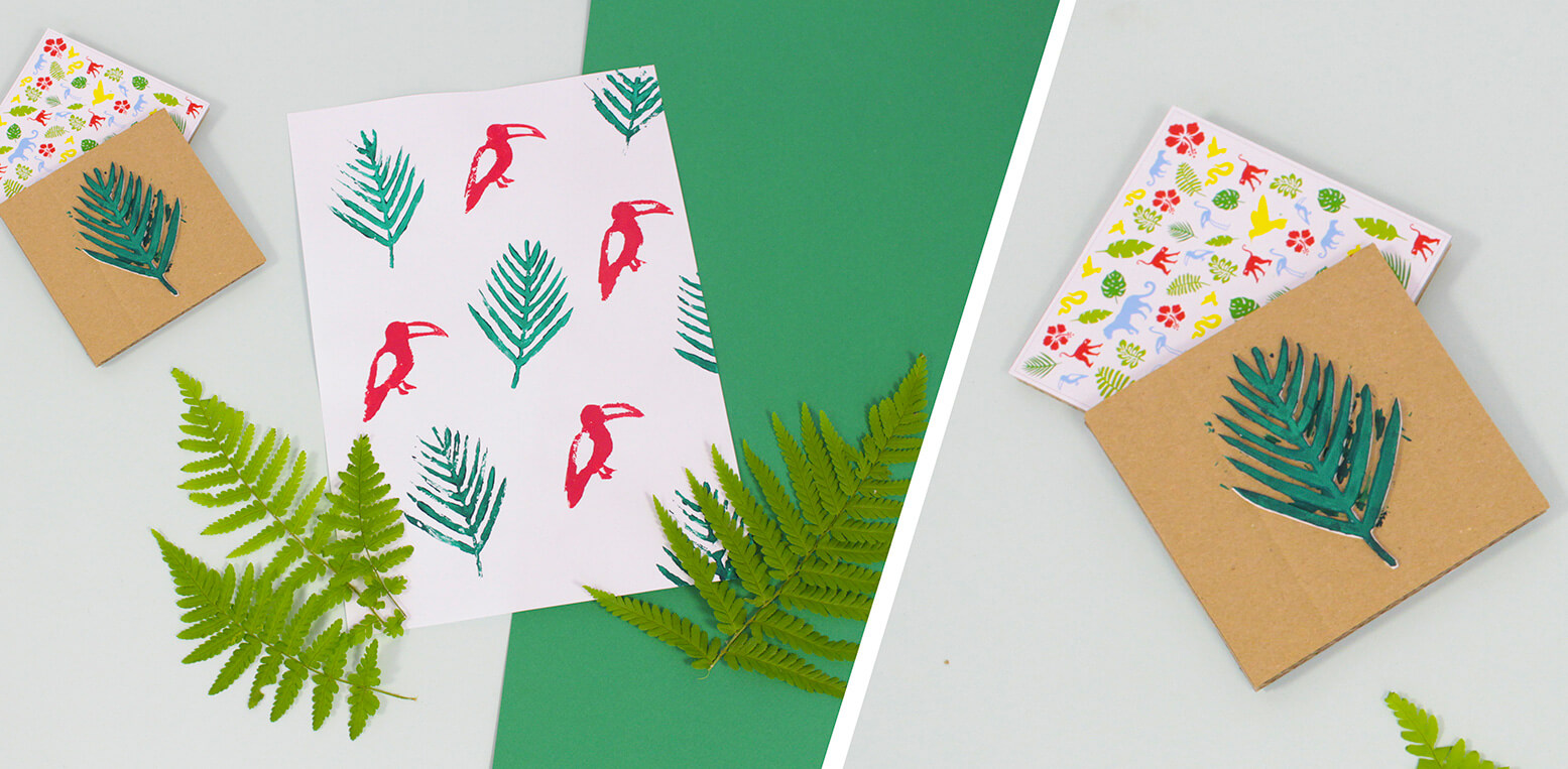 DIY Foam Stamps