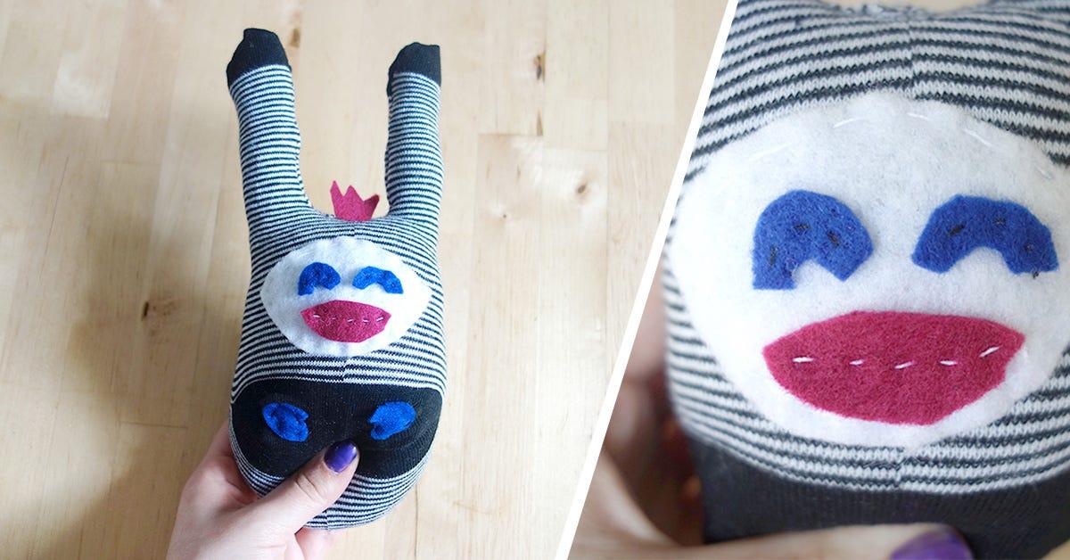 DIY Sock Soft Toy