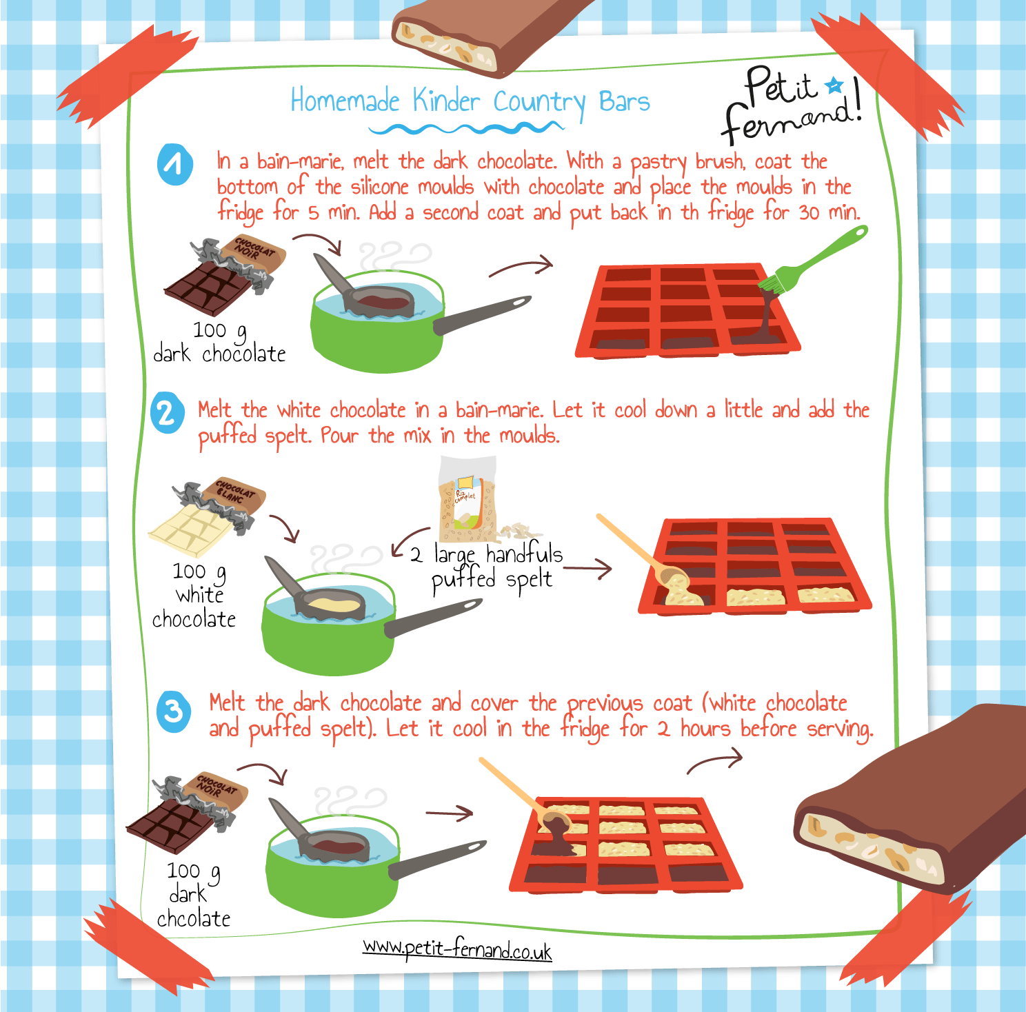 Kids' Kinder Country recipe