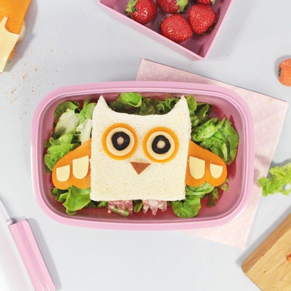 Food Art Owl