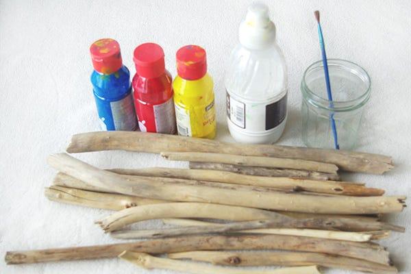 DIY Indian Sticks