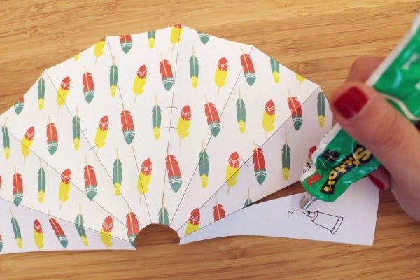 DIY Paper Teepee