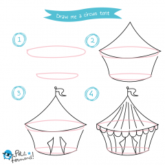 Circus Drawing Tutorial