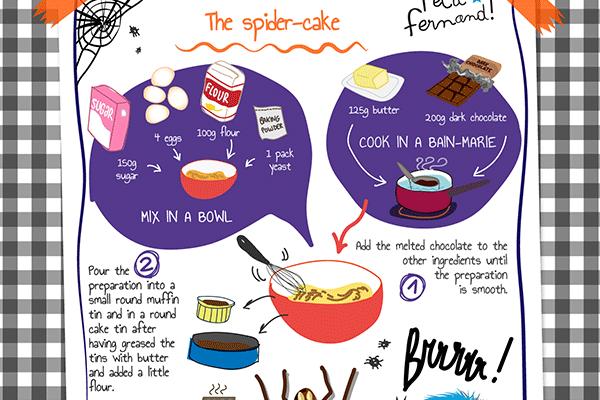 Halloween Cake Recipe