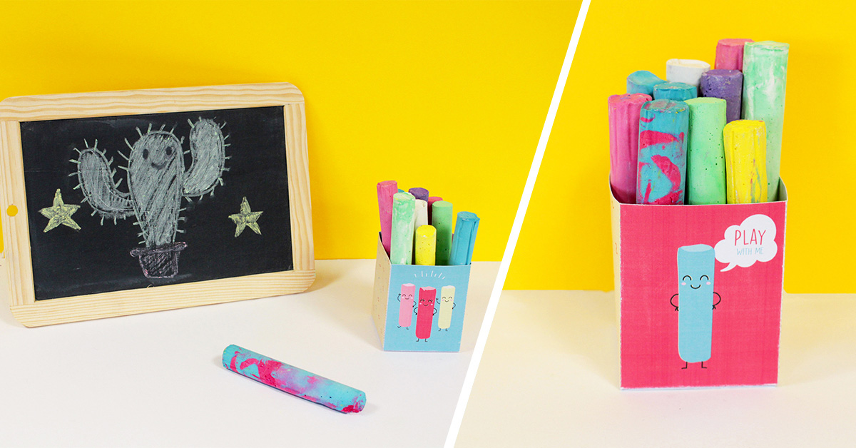 DIY Homemade Chalks