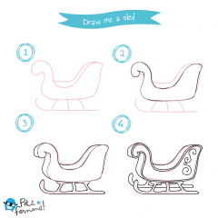 Sled drawing tutorial