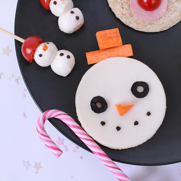 Christmas Treats Food Art