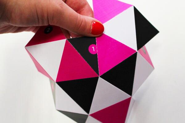 DIY geometric containers