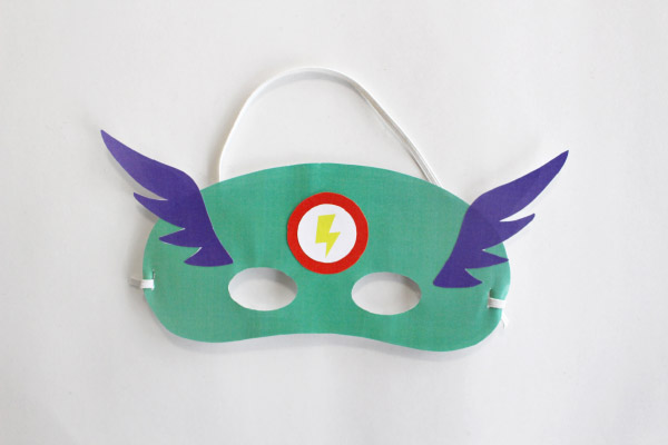 DIY Superhero Mask
