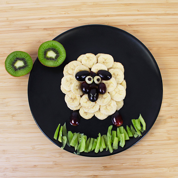 Fruit sheep fun food