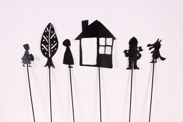 Kid's Shadow Theater DIY