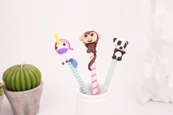 DIY Polymer clay animals