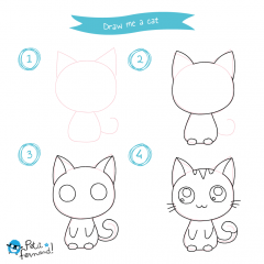 Kawaii Cat Tutorial