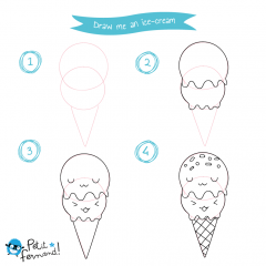 Kawaii Ice-cream Tutorial