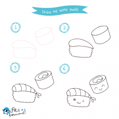 Kawaii Sushi Tutorial