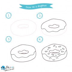Kawaii Donut Tutorial