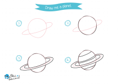 Learn How to Draw Planet