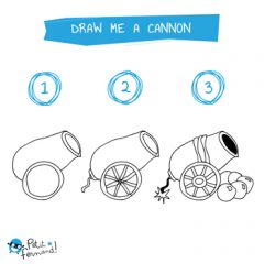 Cannon Drawing Tutorial