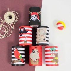DIY: Coconut Shy for Pirates