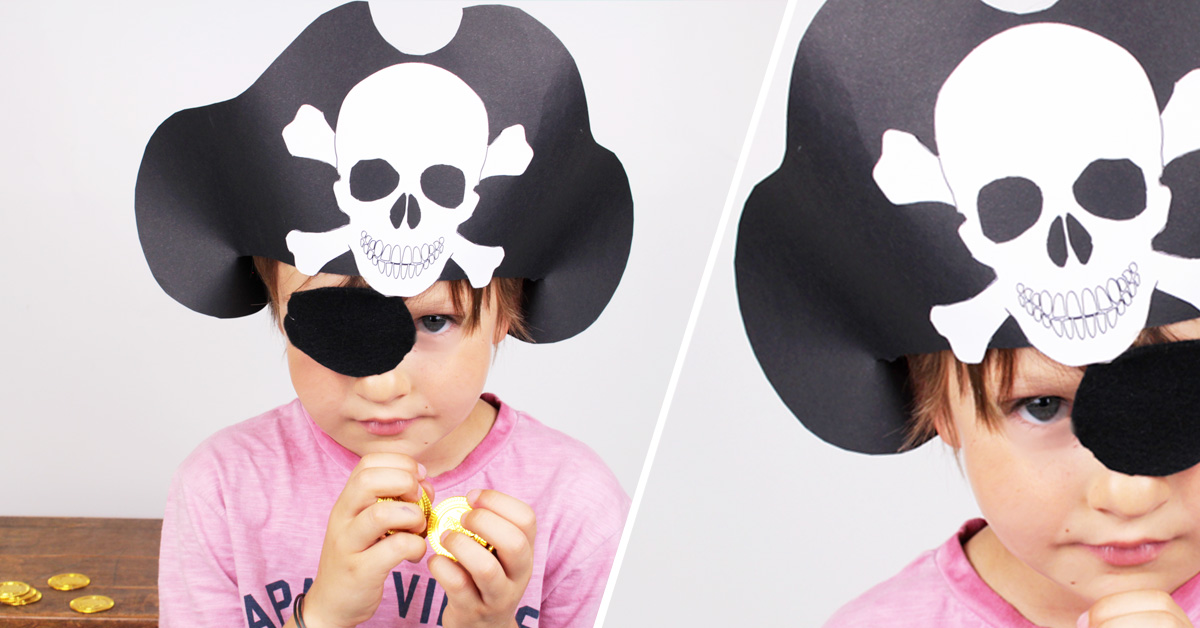 DIY Pirate's Hat for costume party