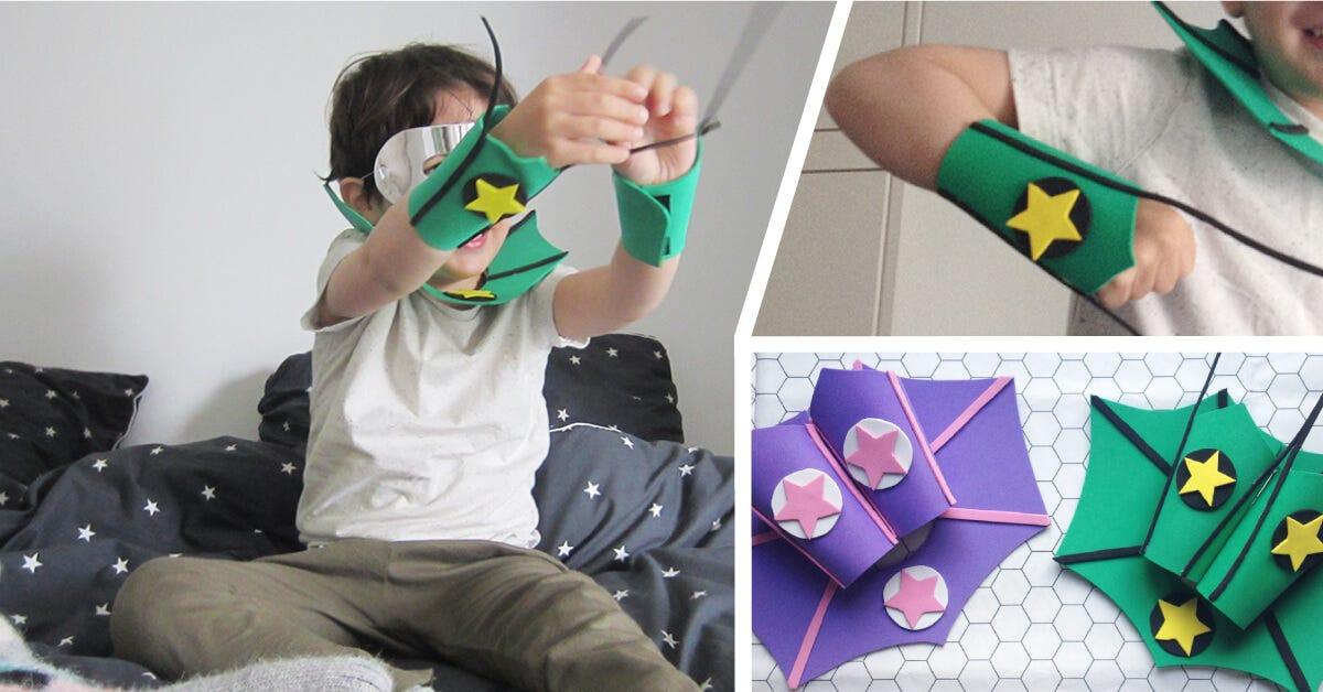 DIY: Superhero Fancy Dress Costume