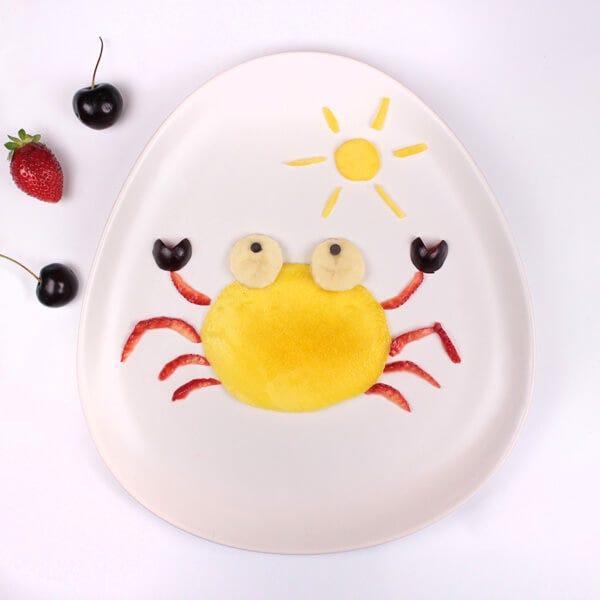 Food Art: Mango Crab Dessert