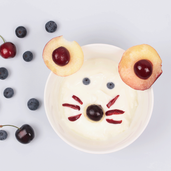 Food Art Ideas for Kids: Cream Cheese