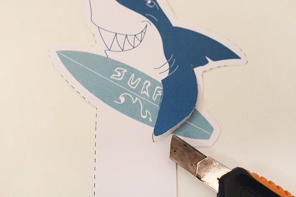 DIY Ideas: Holiday Bookmarks - Unicorn, Cactus, Monster, Shark