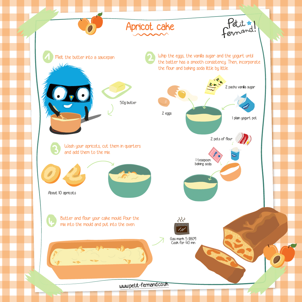 Easy Recipes for Kids: Apricot Cake