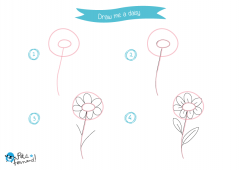 Learn How to Draw Flowers