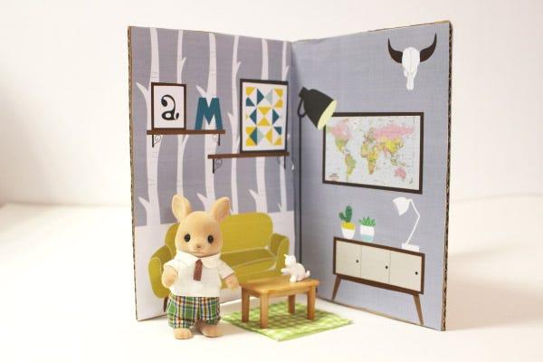 DIY Ideas for Kids - Portable Dollhouse