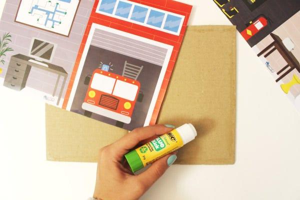 DIY Ideas for Children: Fire Station