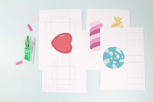 DIY Ideas for Children: Candy Box