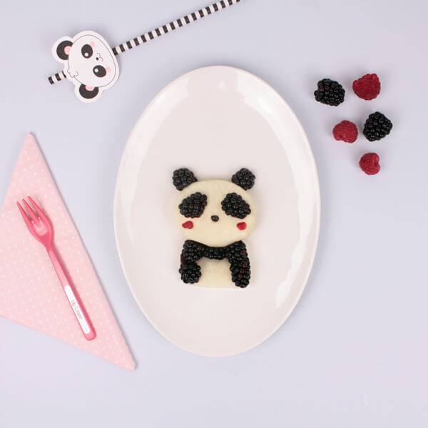Panda Kawaii dessert