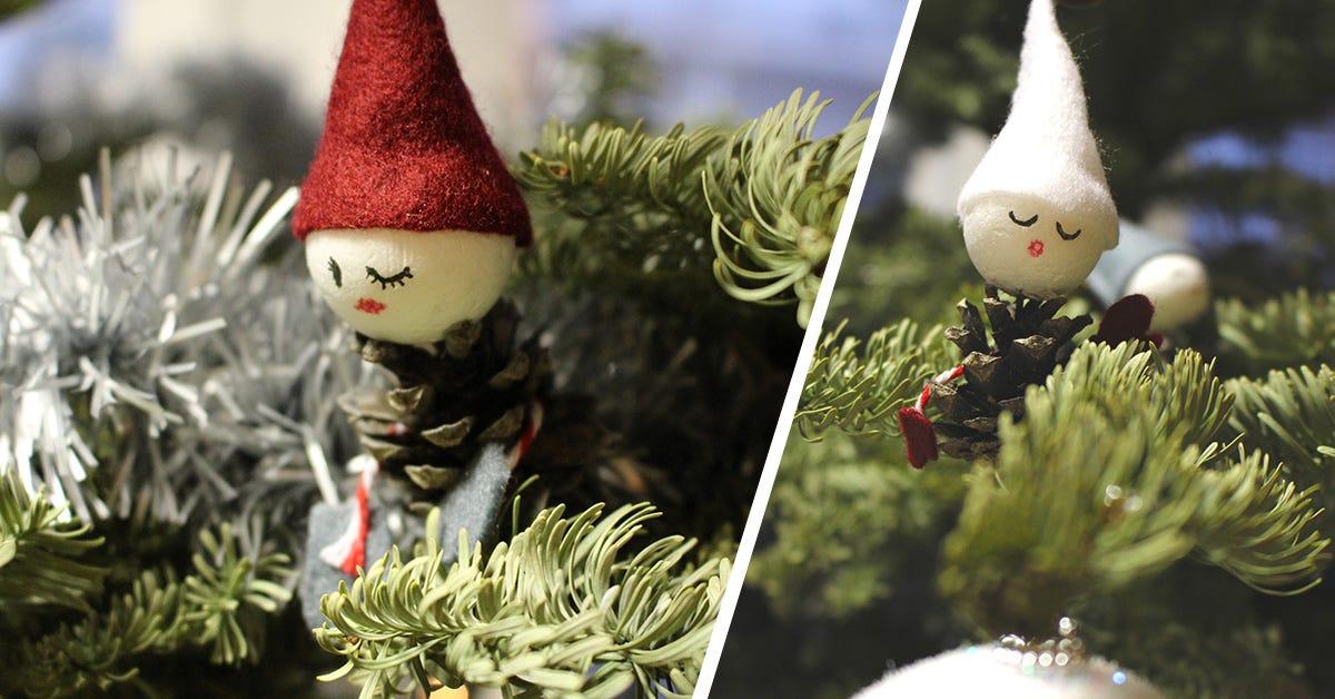 Christmas elf DIY