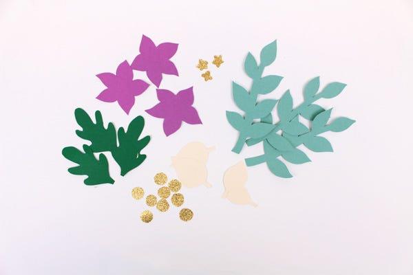 Fall Paper Wreath