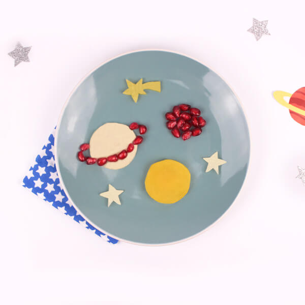 Planets healthy snacks for kids