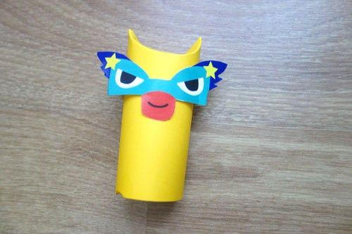 Superhero figures DIY for kids
