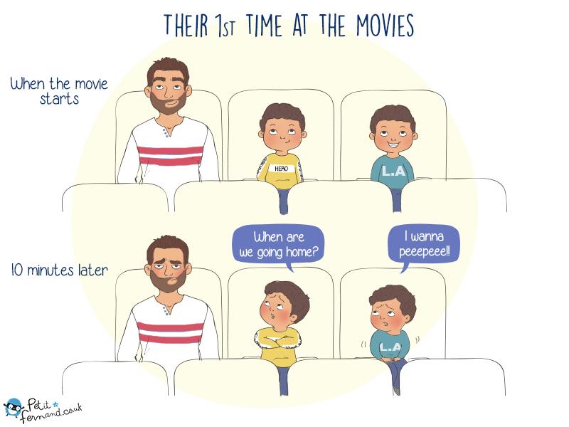 Parenting humour kids cinema