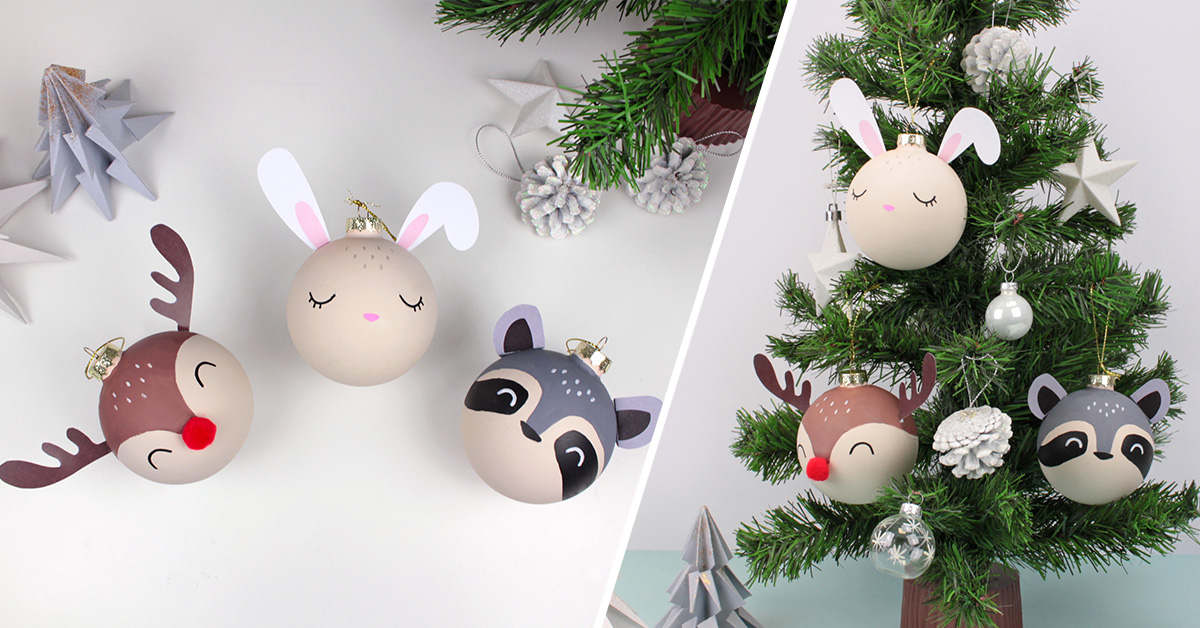 diy animal christmas ornaments - Animal Christmas Decorations