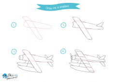 How to draw air transport