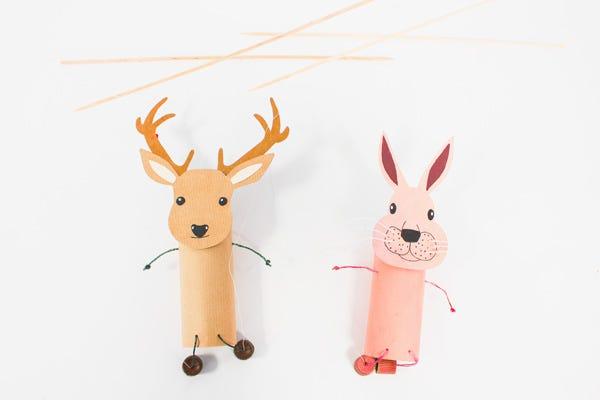 DIY Animal Puppets