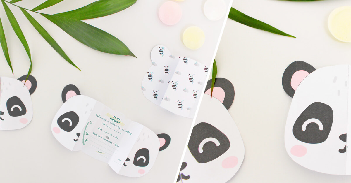 Panda birthday invitations i diy petit fernand diy panda birthday invitation filmwisefo