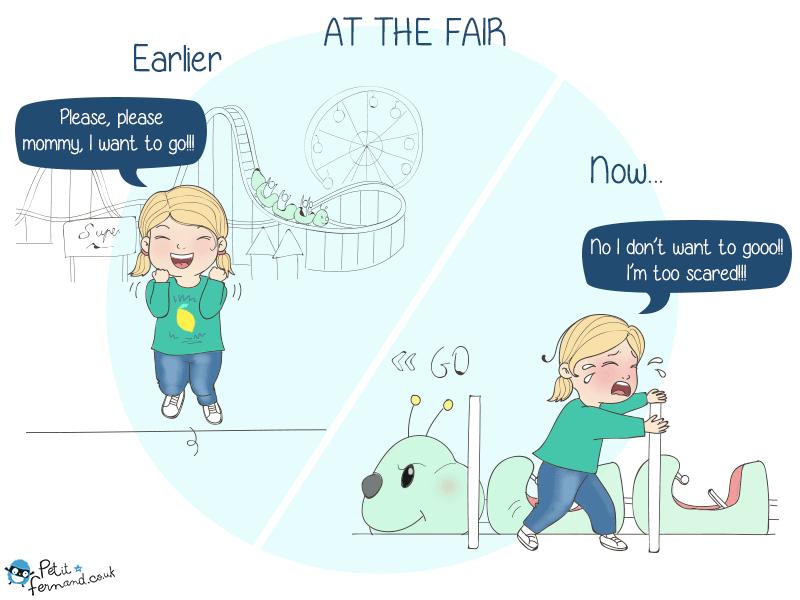 Parenting humour : at the fair