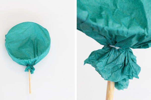 DIY: Mini Pinatas birthday