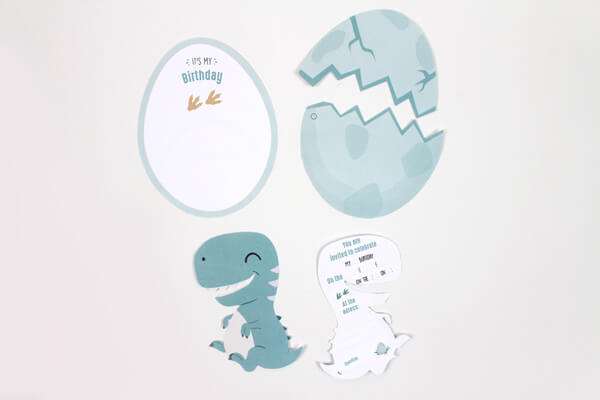 Step 1 Download And Print Our Template Cut Out The Invitations
