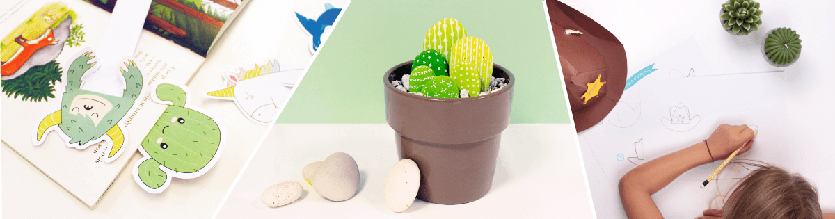 Follow our dedicated DIY projects to decorate your house with cactuses!